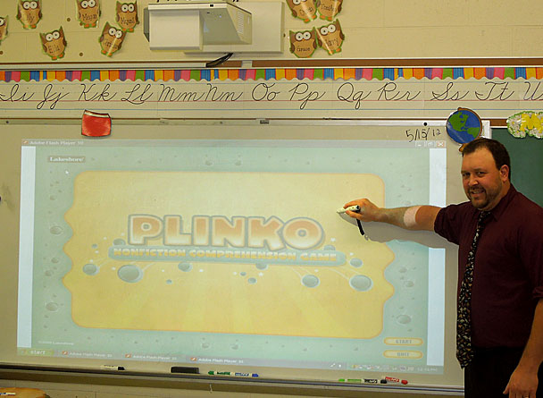 2nd Grade Interactive Projector